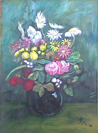 Vaza sa cvijecem(Vase with Flowers)